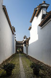 Chinese Qing Dynasty Architecture Royalty-vrije Stock Afbeeldingen
