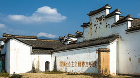 Chinese Qing Dynasty Architecture Royalty-vrije Stock Fotografie