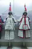 Chinese qing dynasty soldiers armor Stock Photography
