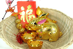 Chinese rabbit Royalty Free Stock Images