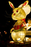 Chinese Rabbit Animal Zodiac Lantern Stock Image