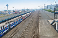 Chinese railway Stock Images