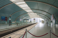 Chinese Railway Station Stock Photography