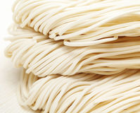 Chinese raw noodle Stock Image