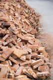 Chinese Red Bricks Stock Photos