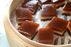 Chinese red date cake Royalty Free Stock Image
