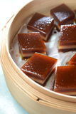 Chinese red date cake Stock Photo