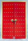 Chinese red door Stock Photo