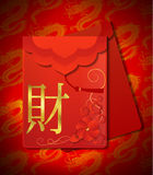 Chinese Red Envelopes Stock Photos