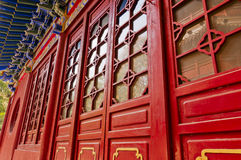 Chinese  Red  gate Royalty Free Stock Photo