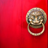 Chinese Red Gate Stock Photos