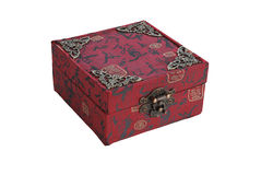 Chinese red gift box Stock Image