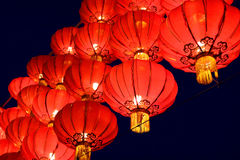 Chinese red lantern Stock Images
