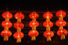 Chinese red lantern Stock Image