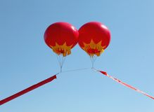 Chinese red lantern Stock Photos