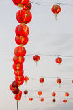 Chinese red lantern. In thailand Royalty Free Stock Photo