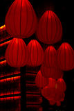 Chinese red lantern decoration Royalty Free Stock Photo