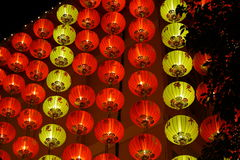Chinese Red Lantern At Night Royalty Free Stock Images