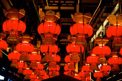 Chinese red lantern Royalty Free Stock Images