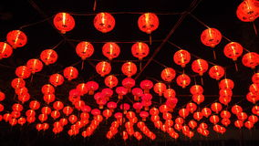 Chinese red lanterns in Chinese new year Royalty Free Stock Image