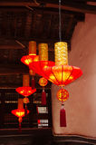 Chinese red lanterns Royalty Free Stock Image