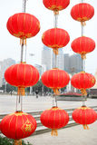 Chinese red lanterns in the new year Royalty Free Stock Images