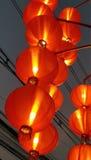 Chinese red lanterns background Royalty Free Stock Image