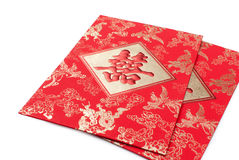 Chinese red pocket Stock Images