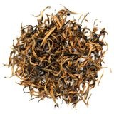 Chinese Red Tea Diang Hong. Chinese Red Yunnan Tea Diang Hong Stock Photos
