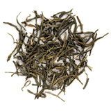 Chinese Red Tea Simao Xiang Zhen. Isolated Stock Image