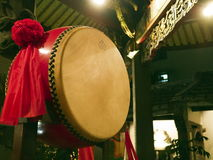 Chinese religious drum Stock Images