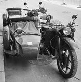 Chinese replica motorcycles in Beijing, China. Stock Photography