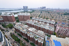 Chinese Residence Community. High density residence area in Anqing City, Anhui Province, China Stock Images