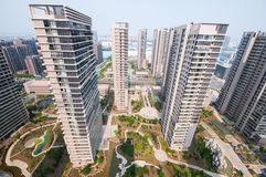 Chinese Residential building Royalty Free Stock Image