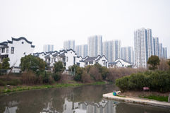 Chinese Residential building Royalty Free Stock Photography