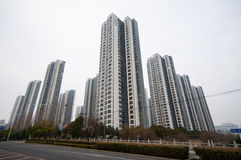 Chinese Residential building Royalty Free Stock Images