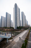 Chinese Residential building. Residential building in hefei china ,the price of real estate was booming in latest 20 years Stock Photography
