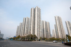 Chinese Residential building Stock Photos