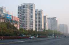Chinese Residential building Stock Images