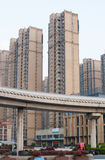 Chinese Residential building Royalty Free Stock Photos