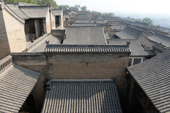 Chinese residential building. Chinese traditional brick building, residential building royalty free stock photo
