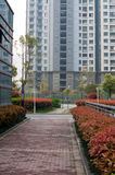 Chinese Residential community Royalty Free Stock Photos