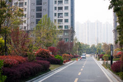 Chinese Residential community Royalty Free Stock Photography
