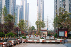 Chinese Residential community Royalty Free Stock Images