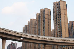 Chinese Residential community Royalty Free Stock Photo