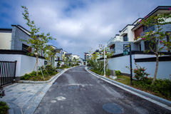 Chinese residential district Stock Images