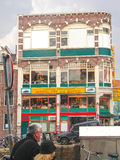 Chinese restaurant in the center of Amsterdam . Netherlands Stock Photography