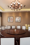 Chinese restaurant Dining room . Royalty Free Stock Photography
