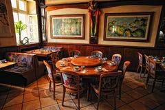 Chinese restaurant interior Stock Photo