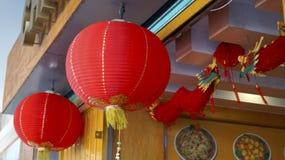 Chinese restaurant outside decoration Royalty Free Stock Image